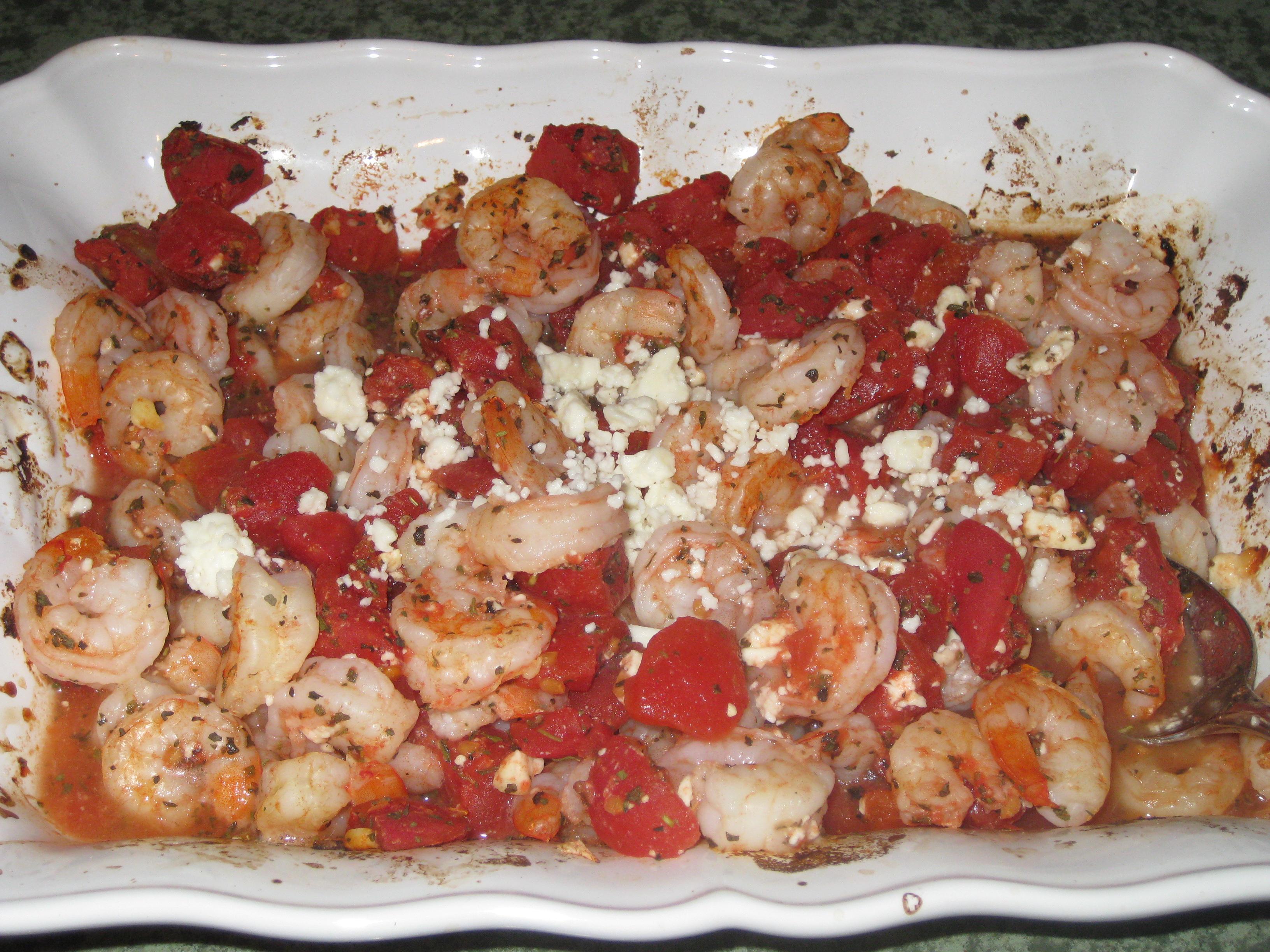 Angel Hair Shrimp Bake Recipe   Taste of Home Recipes
