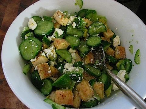 Lemon Cucumber Tofu Salad Recipes — Dishmaps
